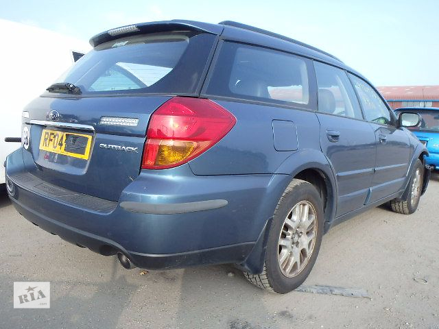 купить бу б/у Бампер задний Хэтчбек Subaru Outback 2003-2008 в Львове