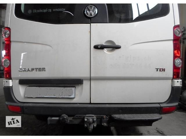 Б/у Бампер задний/передний Volkswagen Crafter Фольксваген Крафтер 2.5 TDI 2006-2010- объявление о продаже  в Рожище