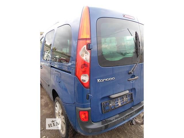 купить бу Б/у Бампер задний с парктрониками Renault Kangoo,Рено Канго,Кенго2 1,5DCI в Рожище