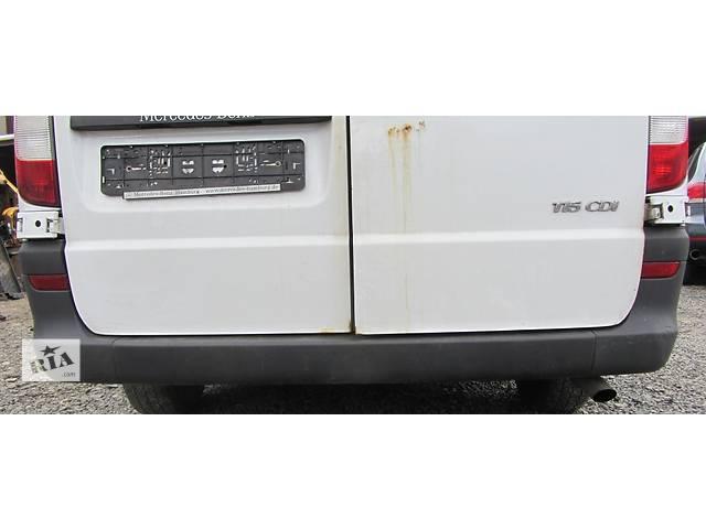 бу Б/у бампер задний, задній Mercedes Vito (Viano) Мерседес Вито (Виано) V639 (109, 111, 115, 120) в Ровно