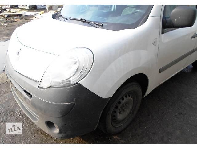 бу Б/у Бампери передні ( в кольорі,чорні) Renault Kangoo Рено Канго Кенго1,5 DCI 2008-12 в Луцке
