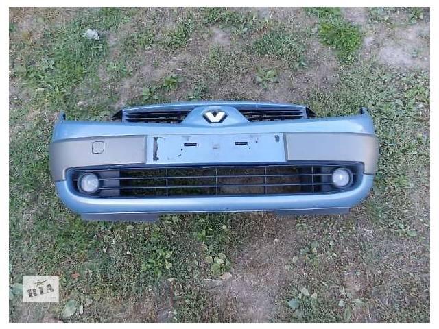 бу Б/у бБампер передний задний Рено Сценик Сценік Renault Scenic 2 03-09 в Ковеле