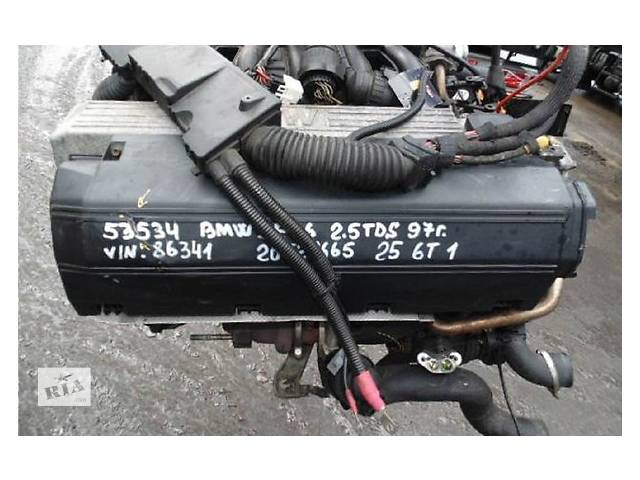 Б/у блок двигателя для легкового авто BMW 3 Series 2.5 TD- объявление о продаже  в Ужгороде
