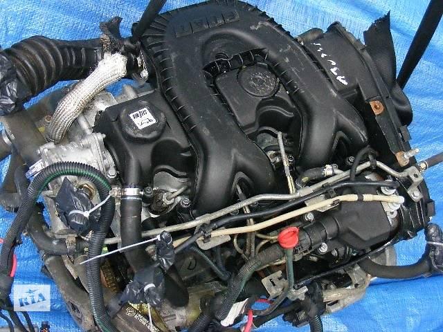 продам Б/у блок двигателя для легкового авто Fiat Doblo 1,9д бу в Луцке
