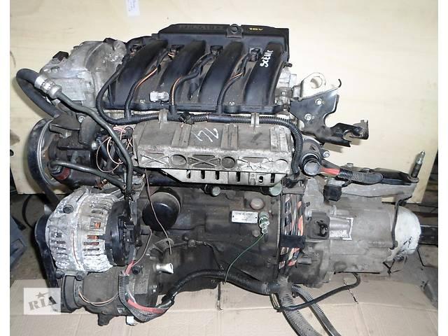 бу Б/у Блок двигателя Двигатель 1,6 16V бензин Рено Сценик Renault Scenic 2003 в Рожище