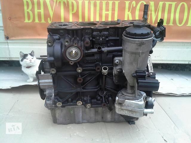 Б/у блок двигуна 1.9 TDI BJB BKC BXE  77кв  для легкового авто Volkswagen Caddy Golf Jetta Passat 2005-2010р- объявление о продаже  в Львове