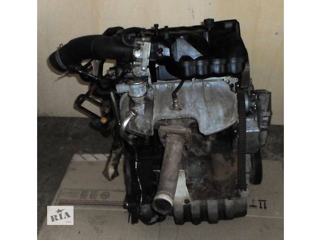 бу Б/у Блок двигуна Двигун Мотор 1,4 16V бензин в зборі Volkswagen Golf IV Фольксваген гольф4 2002 в Рожище