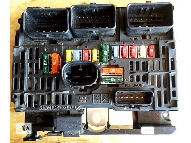 бу Б/у блок предохранителей SIEMENS  BSM-L05-00 для минивена Citroen Jumpy(3) с 2007г.Скудо Експерт Джампі Джампи 1,6/2,0  в Ровно
