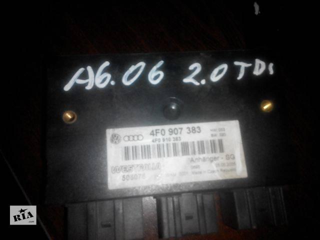 Б/у блок распознования прицепа для легкового авто Audi A6 2006- объявление о продаже  в Львове