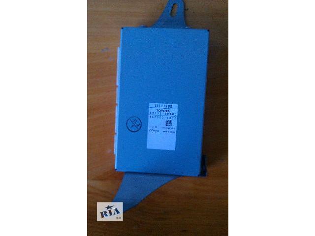 бу Б/у блок управления (86112-30100 selector, multi-display)  для седана Lexus LS 460 2007 в Николаеве