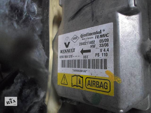 продам Б/у Блок управления airbag для Renault Kangoo,Рено Канго,Кенго2 1,5DCI бу в Рожище