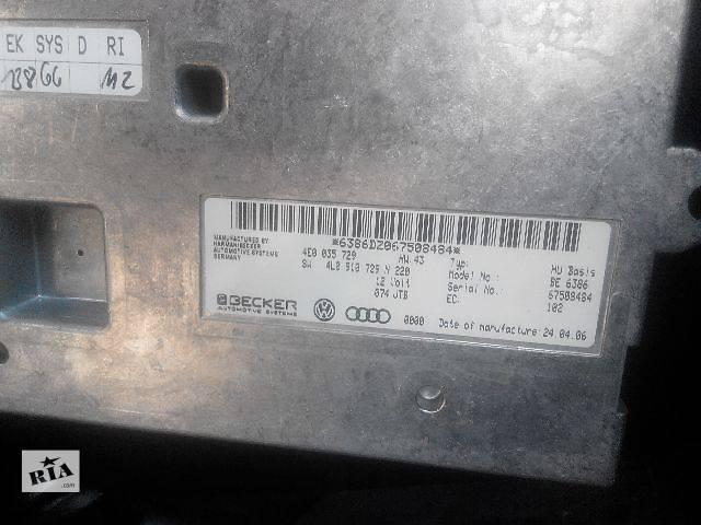 бу Б/у блок управления для легкового авто Audi Q7 2007 в Львове