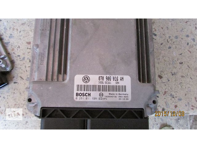 Б/у блок управления двигателем 070906016AN для легкового авто Volkswagen T5 (Transporter) 2008- объявление о продаже  в Ужгороде