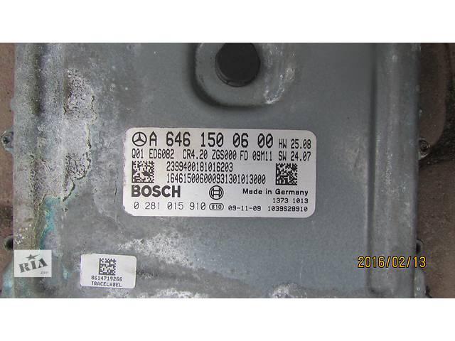 бу Б/у блок управления двигателем A6461500600 BOSCH 0281015910 для легкового авто Mercedes Sprinter 2008 в Хусте
