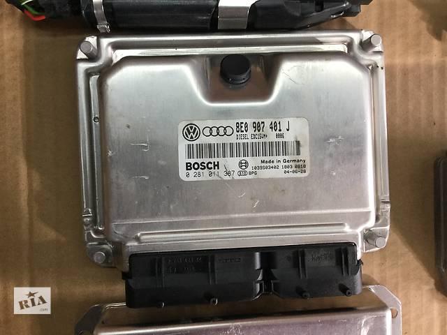 купить бу Б/у блок управления двигателем Audi A4 B6 А6 C5 A8 Passat B5 8Е0907401J 038906019KD в Ивано-Франковске
