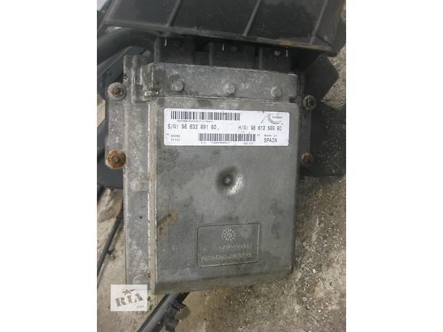 бу Б/у блок управления двигателем Citroen Jumper 2.2 hdi 2006- в Ровно