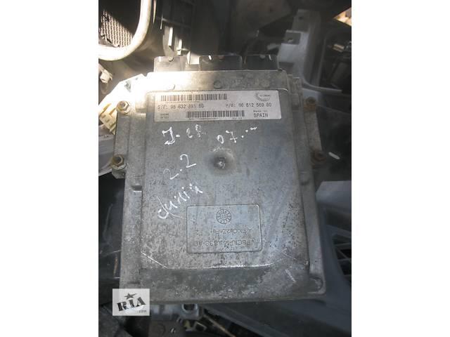 купить бу Б/у блок управления двигателем Citroen Jumper 2.2 hdi 2006- в Ровно