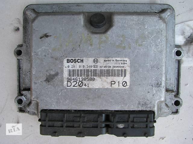продам Б/у блок управления двигателем Citroen Jumper/Fiat Ducato/Peugeot Boxer 2.0HDi/JTD 2002-2006 бу в Броварах