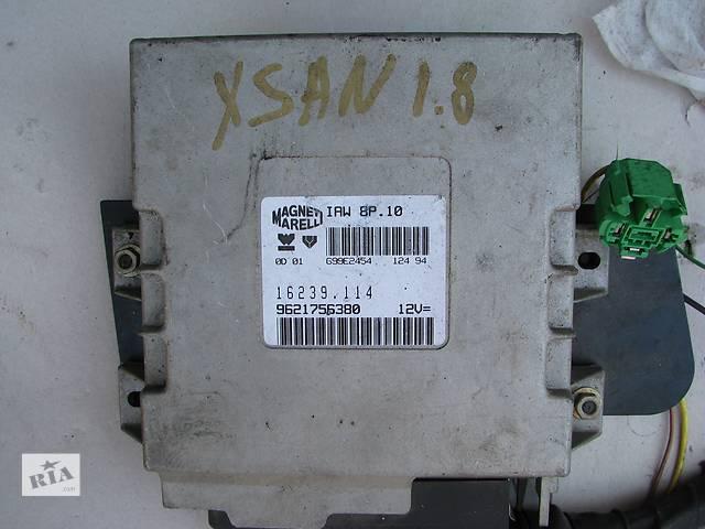Б/у блок управления двигателем Citroen Xantia/Xsara/Peugeot 306/405 1.8- объявление о продаже  в Броварах