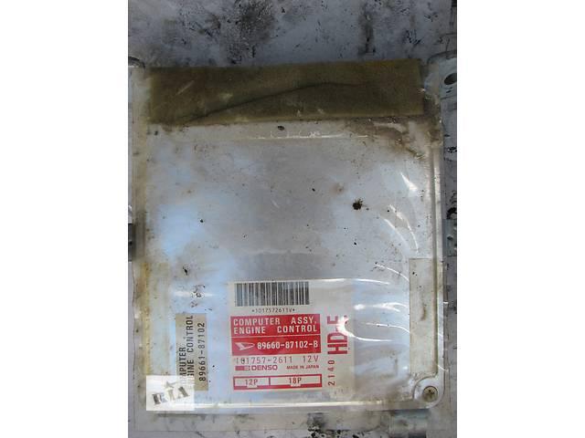 продам Б/у блок управления двигателем Daihatsu Applause A101 1.6 16V 1989-1994 бу в Броварах