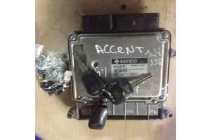б/у Блок управления двигателем Hyundai Accent