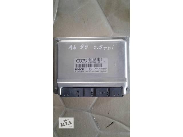 Б/у блок управления двигателем для легкового авто Audi 4B0907401S- объявление о продаже  в Львове