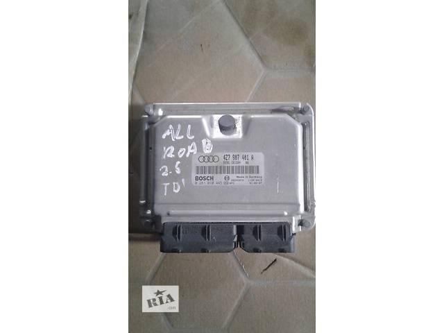 Б/у блок управления двигателем для легкового авто Audi 4Z7907401A- объявление о продаже  в Львове