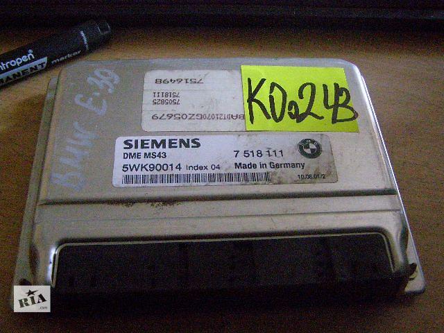 бу Б/у блок управления двигателем для легкового авто BMW 5 Series  2.2i 7518111 в Новой Каховке