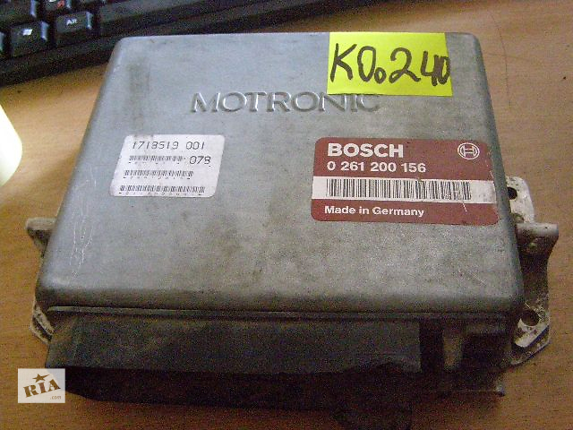 бу Б/у блок управления двигателем для легкового авто BMW 7 Series 5.0i 0261200156 в Новой Каховке