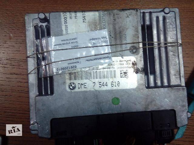 продам Б/у блок управления двигателем для легкового авто BMW X5 DME7544610 0261209010 бу в Ровно