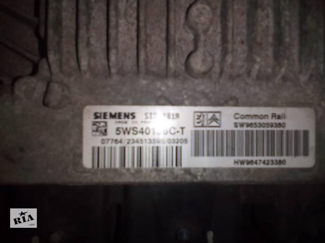 продам Б/у блок управления двигателем для легкового авто Citroen Berlingo бу в Сумах