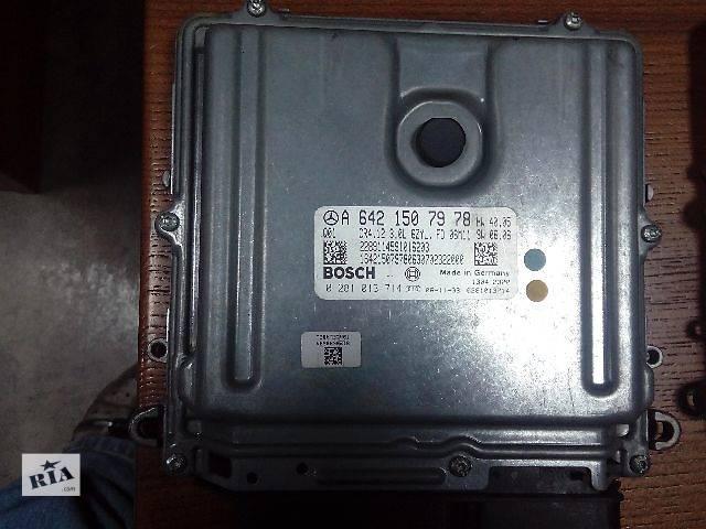 бу Б/у блок управления двигателем для легкового авто Mercedes CLK 320 0281013714 A6421507978 в Ровно