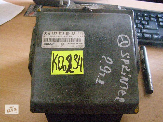 Б/у блок управления двигателем для легкового авто Mercedes Sprinter 2.9td  0281001982- объявление о продаже  в Новой Каховке
