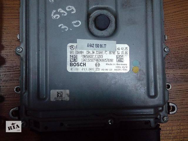 продам Б/у блок управления двигателем для легкового авто Mercedes Vito 0281013669 A6421509677 бу в Ровно