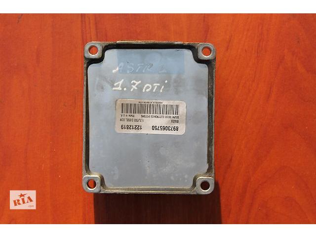 Б/у блок управления двигателем для легкового авто Opel Astra G/Isuzu Delphi 1.7DTI- объявление о продаже  в Тернополе