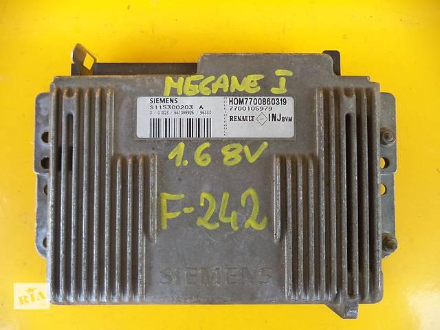 бу Б/у блок управления двигателем для легкового авто Renault Megane (1,6)(95-01) в Луцке