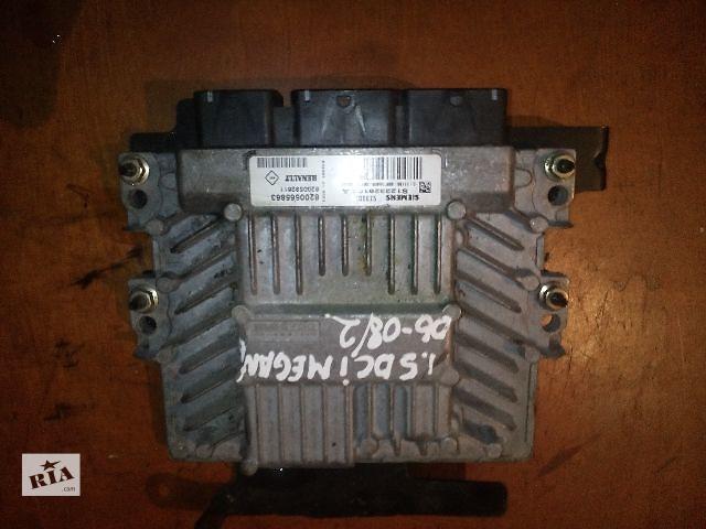 купить бу Б/у блок управления двигателем для легкового авто Renault Megane II (siemens) 1.5dci  2006 года в Ковеле