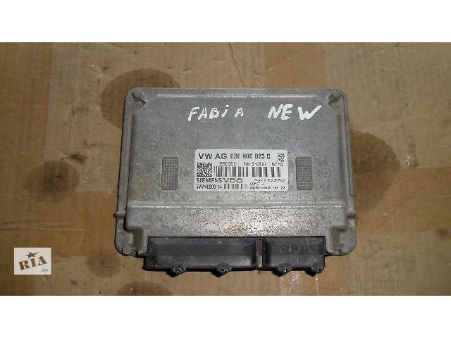 продам Б/у блок управления двигателем для легкового авто Skoda Fabia 2009 бу в Коломые