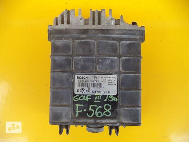 Б/у блок управления двигателем для легкового авто Volkswagen Golf III (1,9 TD)(91-97)- объявление о продаже  в Луцке