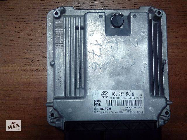 бу Б/у блок управления двигателем для легкового авто Volkswagen T5 (Transporter) 03L907309H 0281016270 в Ровно