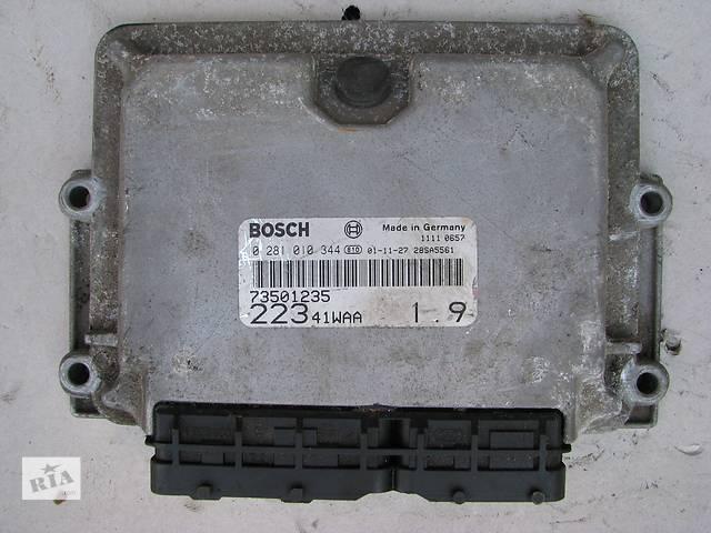 купить бу Б/у блок управления двигателем Fiat Doblo 1.9JTD 2002-2009 в Броварах