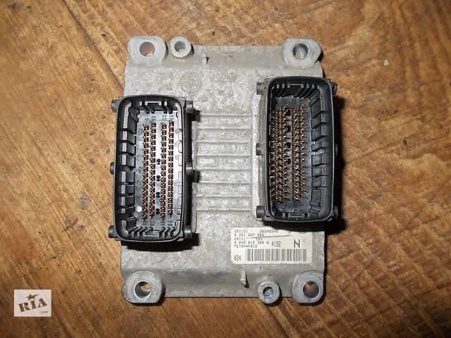 бу Б/у блок управления двигателем Fiat Stilo 1.2 бензин 16V № 0261207086 в Стрые