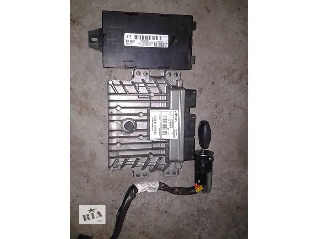 продам Б/у блок управления двигателем (комплект)  для легкового авто Renault Kangoo 1.5dci  08-год бу в Ковеле
