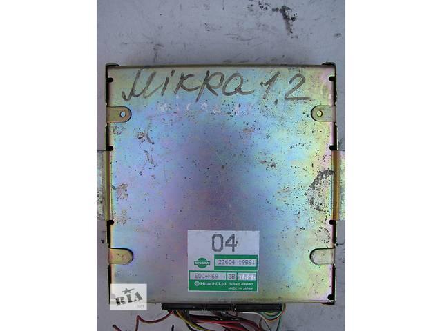 бу Б/у блок управления двигателем Nissan Micra K10 1.2 1989-1992 в Броварах