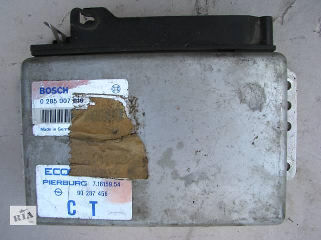 Б/у блок управления двигателем Opel Ascona C/Kadett E/Vectra A 1.8 1987-1989- объявление о продаже  в Броварах