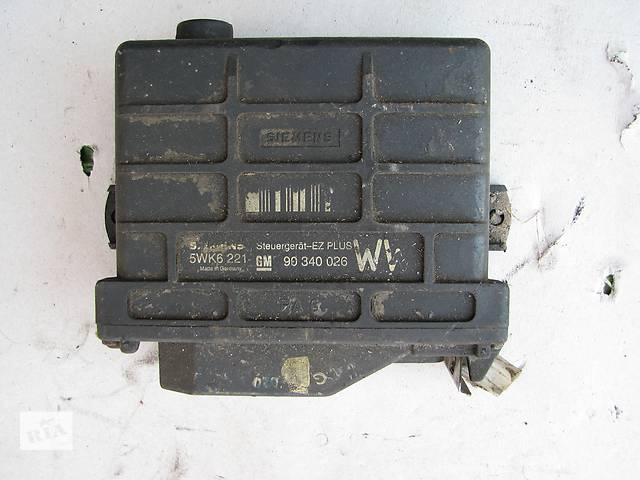 бу Б/у блок управления двигателем Opel Kadett E 1.6 1986-1991 в Броварах