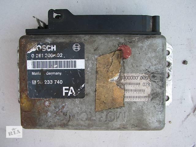 Б/у блок управления двигателем Opel Omega A 2.0 1986-1987- объявление о продаже  в Броварах