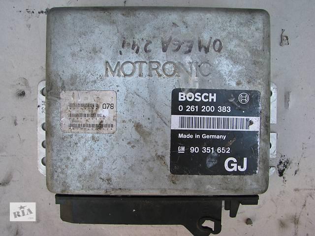 купить бу Б/у блок управления двигателем Opel Omega A 2.4 1988-1993 в Броварах