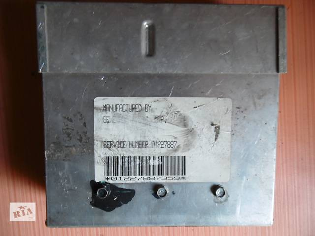 бу Б/у блок управления двигателем  Opel Vectra A Kadett  в Дубно (Ровенской обл.)