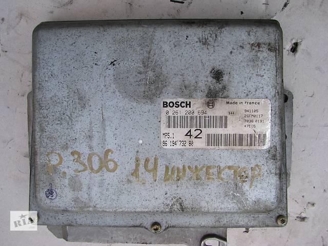 Б/у блок управления двигателем Peugeot 106/306 1.6 1993-2000- объявление о продаже  в Броварах